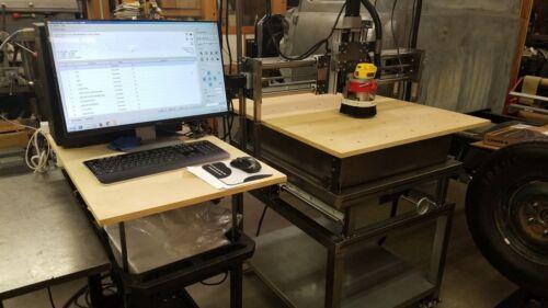 DIY CNC Wood Router Engraver Plasma Table Plans /& Construction Manual USA!!