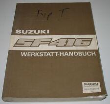 Werkstatthandbuch Suzuki Swift SF 416 Typ EA Motor Getriebe Karossererie Klima!