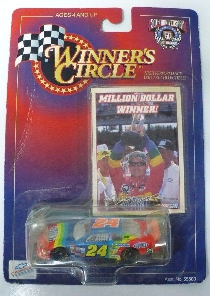 Nascar Winner's Circle 50th Anniversary Edition Jeff Gordon Die Cast Collectable