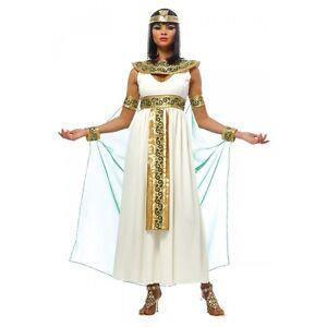Image is loading Cleopatra-Costume-Adult-Halloween-Fancy-Dress  sc 1 st  eBay & Cleopatra Costume Adult Halloween Fancy Dress | eBay
