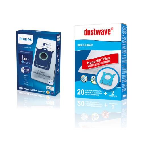 Philips S-Bag FC8021//03 oder dustwave D11 geeignet für FC8941– FC8957 Ultimate