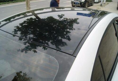 Whole Car Wrap Glossy Mirror Paint Vinyl Film Sheet Sticker Black 65FT X 5FT BO