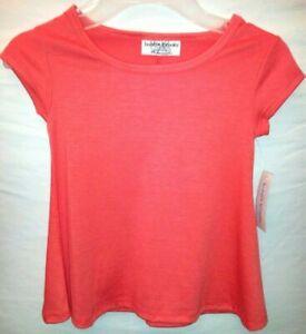 Bobbie-Brooks-Girl-Size-034-XS4-5-034-ORANGE-Rayon-Shirt-Cute-Special-Bargain