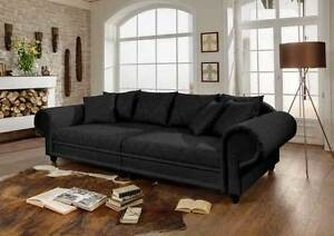 big sofa julia kolonialstil xxl mega kolonialsofa shabby chic farbauswahl neu ebay. Black Bedroom Furniture Sets. Home Design Ideas