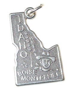 STERLING-SILVER-CHARM-State-of-IDAHO-ID