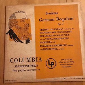 Musical Instruments & Gear Sporting Vocal Score Brahms Requiem Op 45