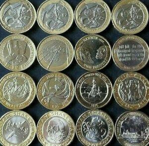 RARO due £ 2 POUND MONETA REGNO UNITO MONETE OLIMPIADI Commonwealth Ni Navy Bibbia Mary Rose