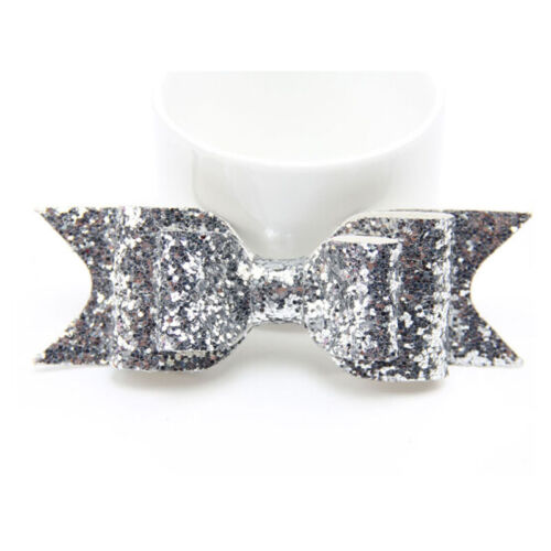 Women Girl Sequins Big Bowknot Barrette Hairpin Hair Clips Hair Bow Chic Stylish