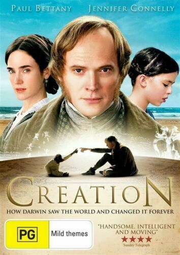 DVD - Creation DVD (2009) Paul Bettany, Jennifer Connelly - PAL R2,4
