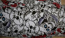 50 X152CM Skull Autofolie Auto Motorrad Folie Stickerbomb aufkleber Sticker Bomb