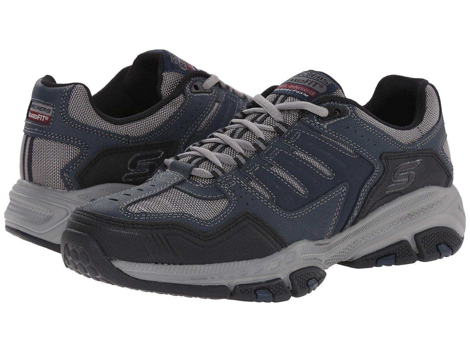 la corte tr mens scarpe skechers marina black scarpe taglia noi gli 8 e i 13 medio (d, m)