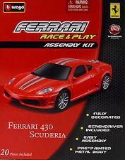 Ferrari 430 Scuderia rot Bausatz 1:43 von bburago