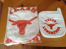 UNIVERSITY OF TEXAS APRON & MITT SET
