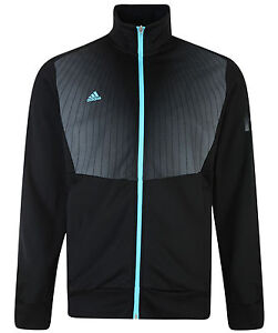 Mens-New-Adidas-F50-Track-Top-Tracksuit-Jacket-Sweater-Black-Football-Gym