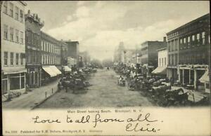 Brockport-NY-Main-St-South-c1905-Postcard
