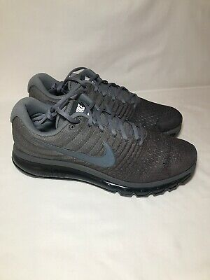 best website fc4b0 fedb9 Nike Air Max 2017 Men's Size 9 COOL GREY/ANTHRACITE-DARK GREY 849559-008  887225864606 | eBay