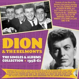 Dion & Belmonts - Singles & Albums Collection 1957-62 [New CD]