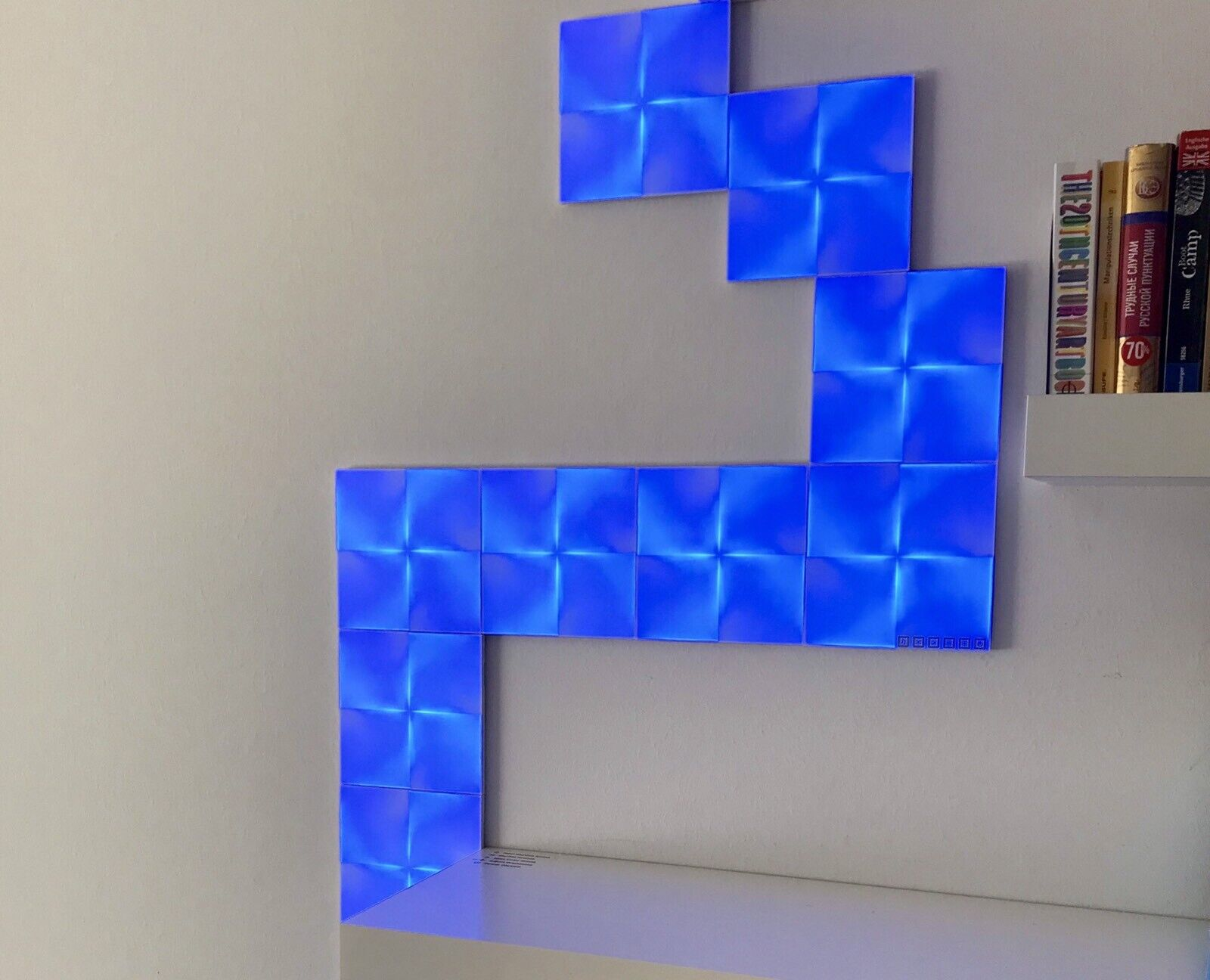 NANOLEAF Canvas Smarter Kit 9 panels panels panels NL29-0002SW-9PK , Montage ohne bohren be7d4b
