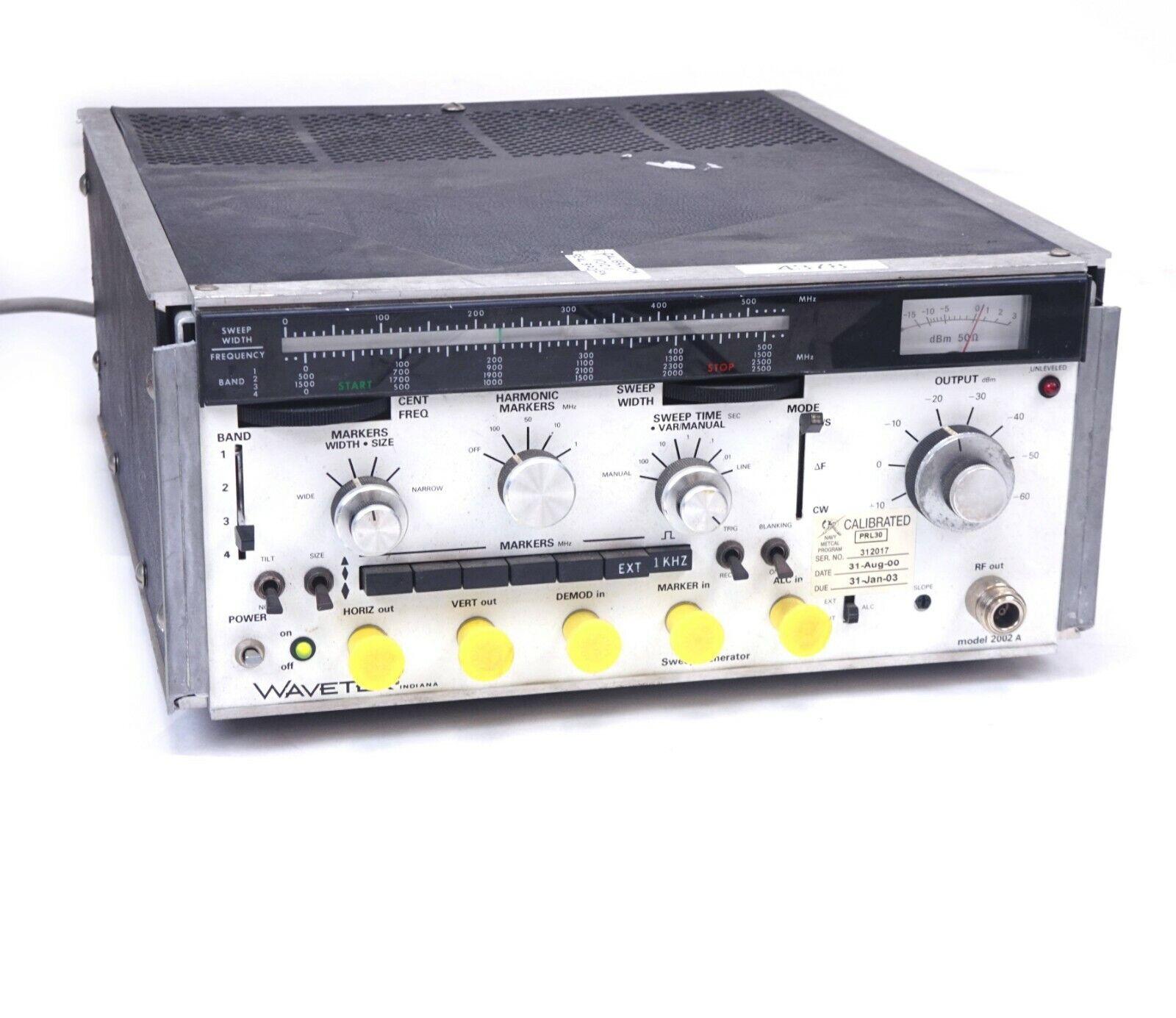 WaveTek 2002A