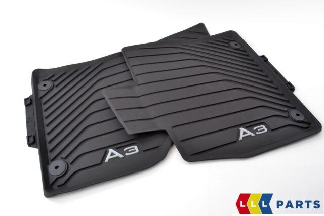 8V6061221 041 Original Audi RS3 Gummimatten Gummifußmatten vorne schwarz