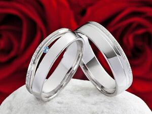 Eheringe-Verlobungsringe-925-Silber-Ringe-mit-echten-Topas-amp-Ring-Gravur-SPT59