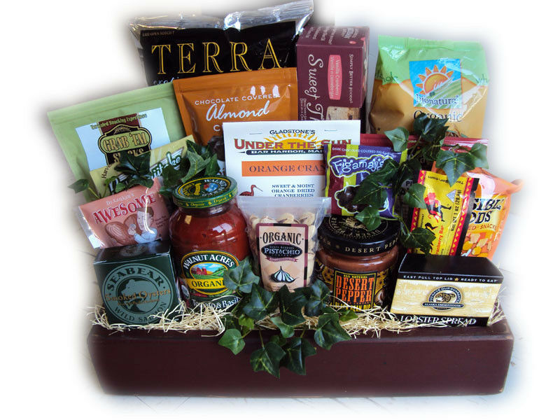 Healthy Gift Basket for Him