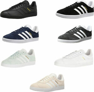 reputable site dd49d f9260 Image is loading adidas-Originals-Unisex-Gazelle-Casual-Sneakers-9-Colors