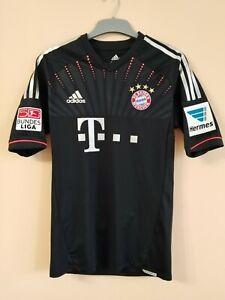 Bayern München #14 Claudio Pizarro 2012-2013 Match Worn Drittes Trikot Techfit