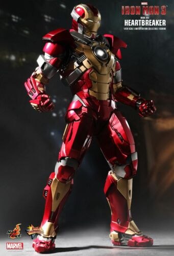 "Sideshow Hot Toys 1//6 12/"" MMS212 Iron Man Heartbreaker Mark 17 XVII Figure"