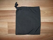 eagle industries nylon drawstring flat pouch black bag slip pocket utility 6.5x6