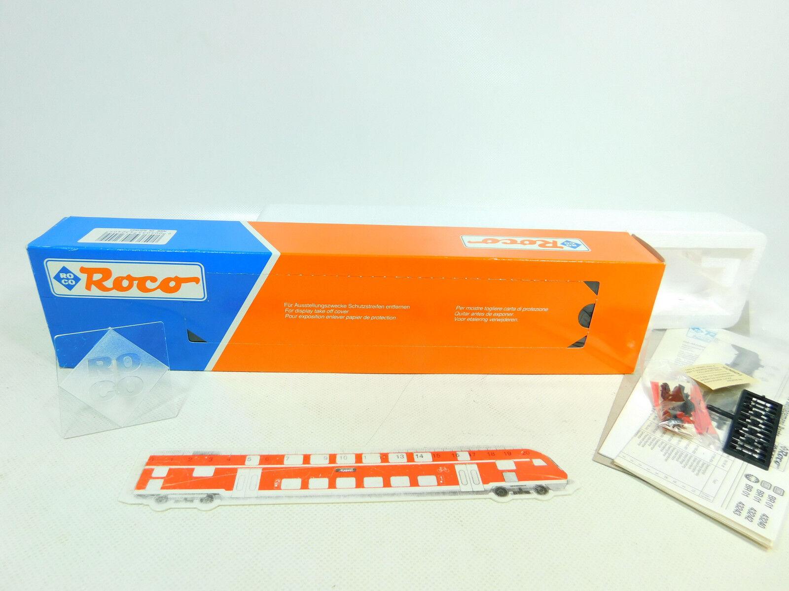 BT799-0, 5 Roco H0 Caja Vacía para 43240 Locomotora de Vapor   Db