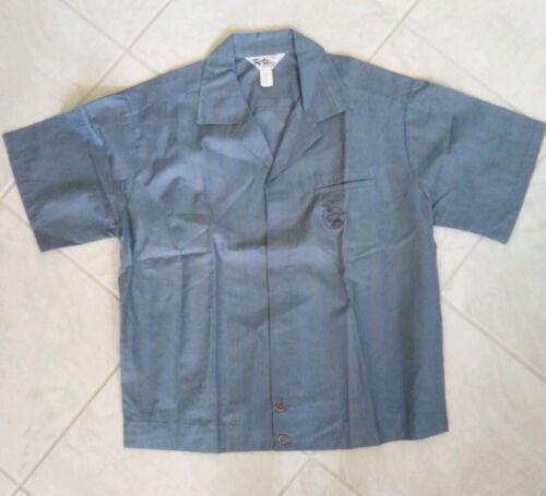 Vtg Reef hawaiian shirt M cotton blend 50s bowling