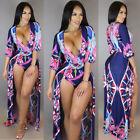 Fashion Women Bodycon Romper Party Bandage Jumpsuit Playsuit Long Maxi Dress
