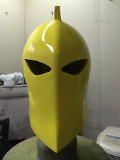 1:1 Scale Yellow Dr. Fate Helmet & Medallion Prop