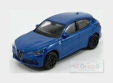 Alfa Romeo Stelvio Q4 Quadrifoglio V6 2017 Blu Misano BURAGO 1:43 BU30389BL