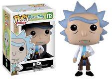 "RICK & MORTY - RICK 3.75"" POP VINYL FIGURE FUNKO 112 UK SELLER"