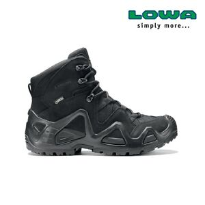 Chaussures Rangers Femme Lowa Zephyr GTX mid Gore-Tex noires taille 39,5