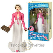 Jane Austen Action Figure Historic Character Famous History Vinyl Toy Collect