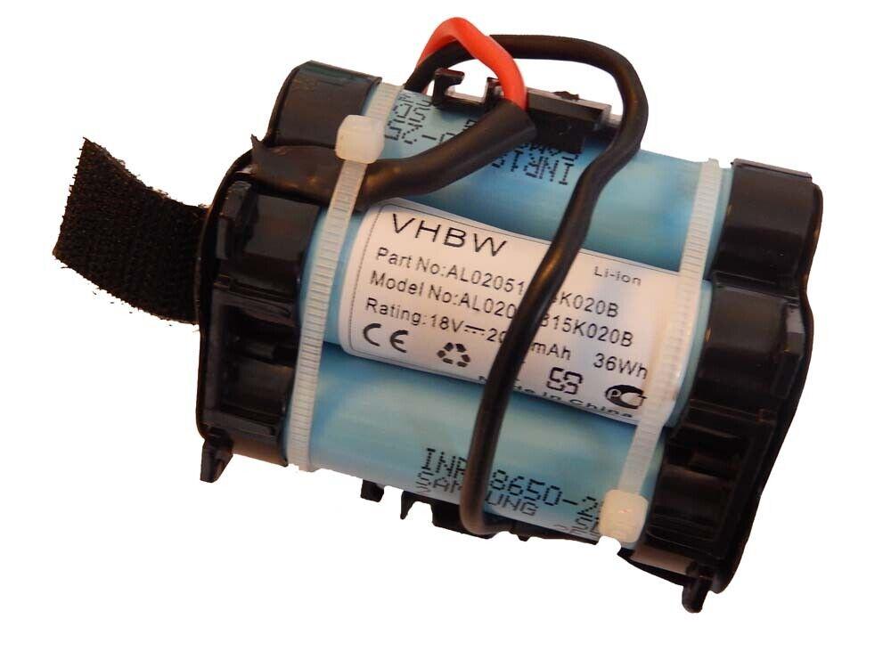 Original VHBW ® acu batería 2000mah para Gardena r80li, r80 li, 124562
