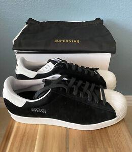 Restricciones Persona a cargo del juego deportivo dolor de muelas  Adidas Superstar Pure Men Shoes Size 10 Black Sneakers New York Special  Edition   eBay