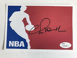 Chris-Mullin-Signed-4x6-Photo-Warriors-Autograph-JSA-COA-Hardaway-Richmond