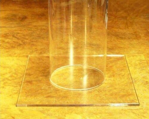PLEXIGLAS® ROHR / SÄULE  ø 180 - 400 mm mit Standfuß und/oder Deckel