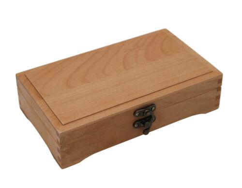 Holzkästchen Aufbewahrung Blei- Buntstift Stiftebox 2 Buche FSC® Organizer
