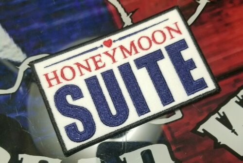 EMBROIDERED HONEYMOON SUITE POP METAL BAND PATCH