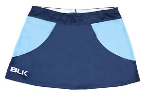 Details about Womens UK 14 BLK Sports Skort Hockey Netball Tennis skirt  Ladies Blue