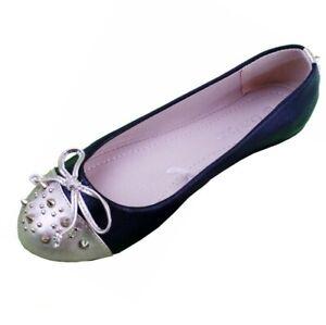 stephanie women casual comfort slip on round toe black