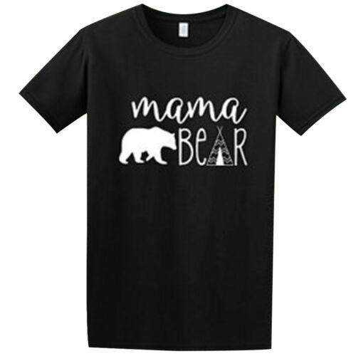 Family Matching Clothes Mother Father Baby Kids Bear T-shirt Romper Tops Outfits