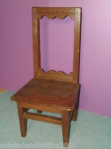 chaise basse nourrice chaise lorraine chene xixe deco. Black Bedroom Furniture Sets. Home Design Ideas
