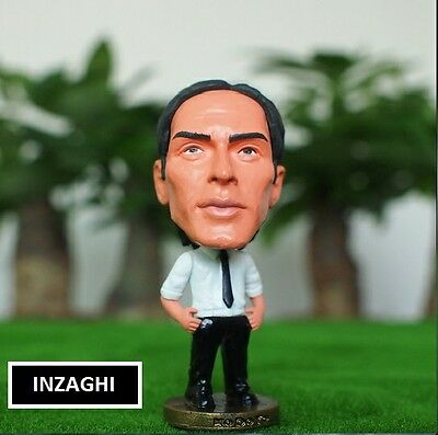 Statuina FILIPPO INZAGHI - COACH Milan football action figure 7 cm