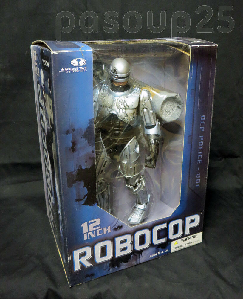 McFarlane McFarlane McFarlane 12 Robocop - Battle Damaged (2005) - NEW cbd22e